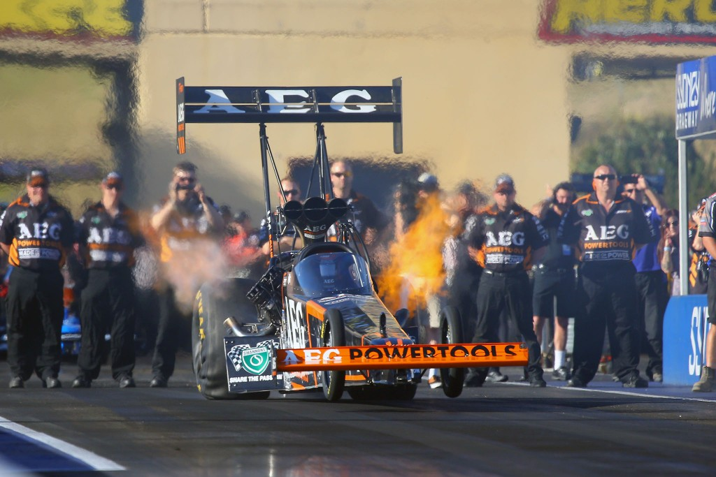 Darren Morgan, Top Fuel. Photo by Grant Stephens, Cackling Pipes.