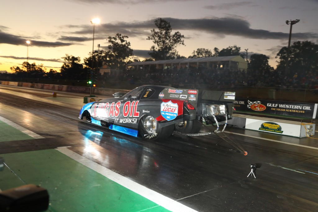 Gary Phillips, Pro Alcohol Championship leader. Photo by Dave Reid / Dragphotos.com.au